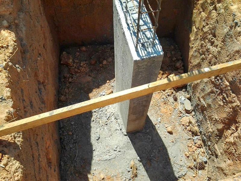 Concreto para coluna