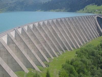 Concreto para barragem