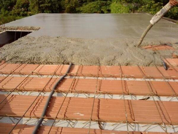 Concreto para laje residencial