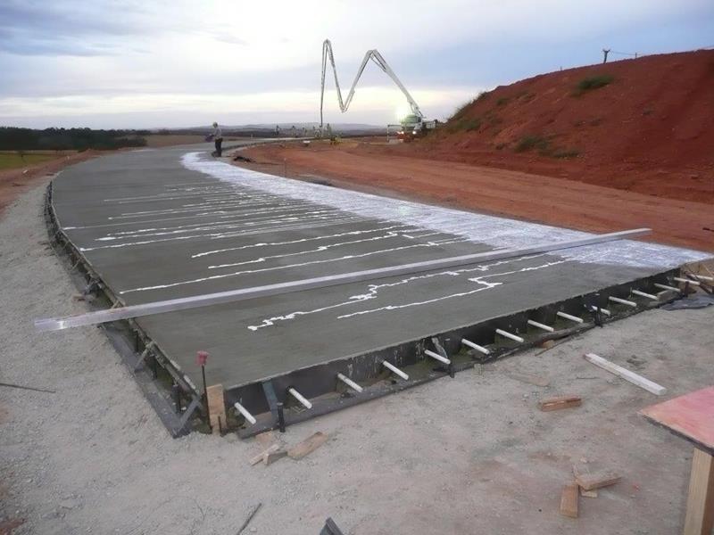 Concreto para pavimento rígido
