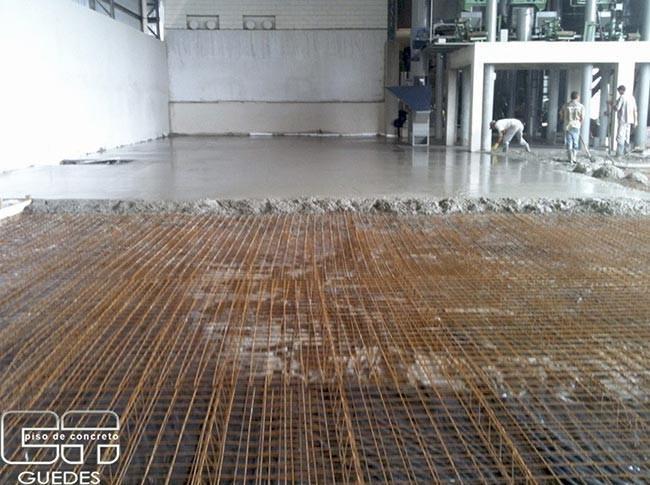 Concreto para pavimentos industriais