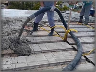 Concreto usinado para laje piso