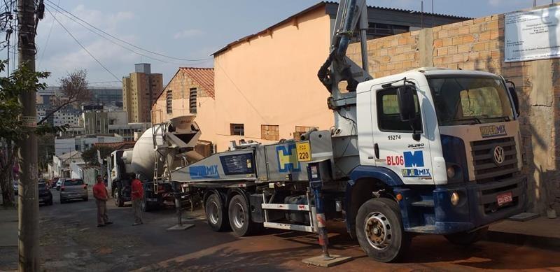 Fornecedor de concreto usinado